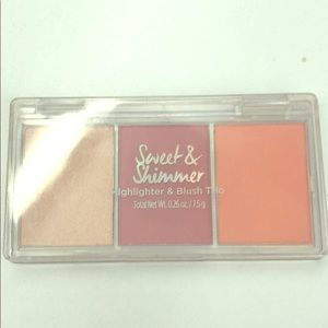 Other - Sweet and shimmer blush trio palette